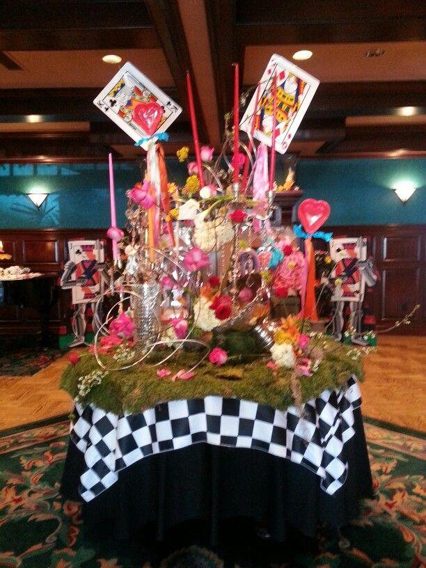 Alice in wonderland prom 2015 pinterest alice prom and wonderland party - Alice in wonderland decorations ...