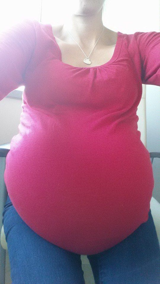 Surrogate Mother 31 weeks with Triplets. | Surrogate ...