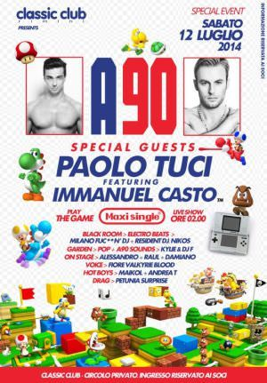 Paolo Tuci al Classic Club Rimini per una serata e after MEMORABILI!!!  http://ow.ly/yRZsR