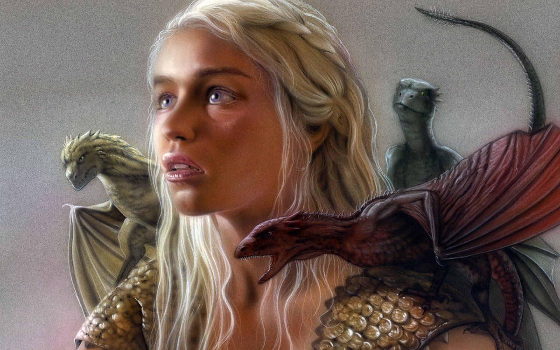 Daenerys targaryen and khal drogo wallpaper daenerys targaryen wedding - Daenerys Targaryen Game Of Thrones Desktop Wallpaper 1920x1200 Click For Original Size