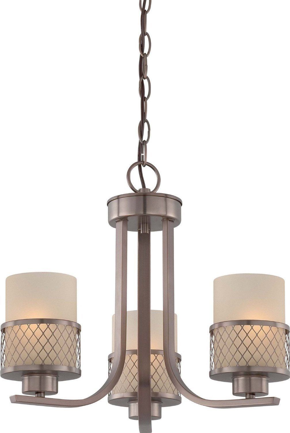 Nuvo Lighting 60 4787 Fusion Collection Three Light Hanging