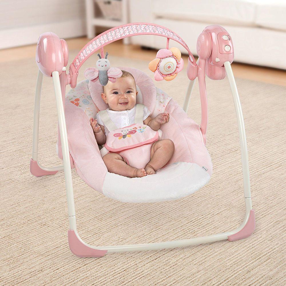 Portable Baby Swing Newborn Rocker Bouncer Infant Seat Toy