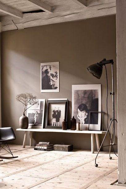 Anmutig elegant mit glamour taupe ist ein maulwurfsgrau das immer passt wohnwand - Wohnzimmer pflanze groay ...
