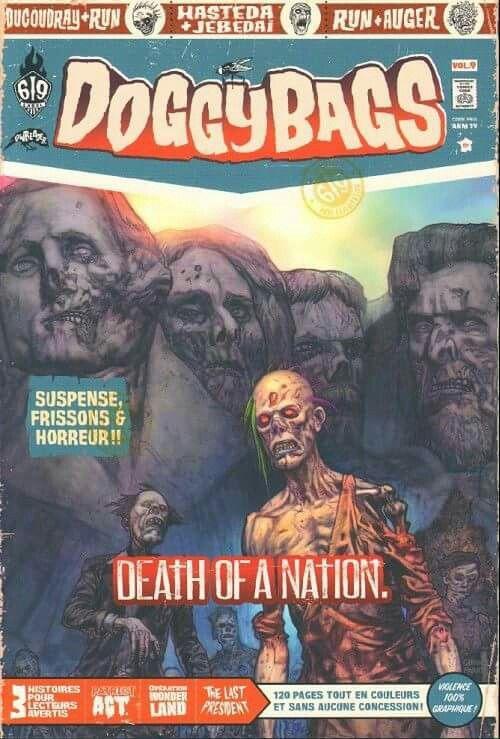 Doggybags Vol.9 : l'anthologie noire et trash d'Ankama fait livraison de zombies http://ow.ly/ZN7fT