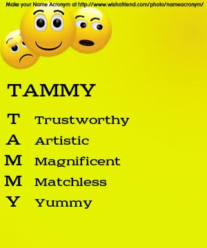 Your Name Acronym T Trustworthy A Artistic M Magnificent M Matchless Y Yummy How To Be Outgoing Gemini Life Names