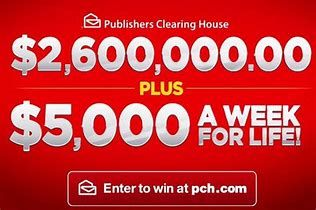 Image result for PCH SUPERPRIZE GIVEAWAY A MILLION BUCKS AND MOVE