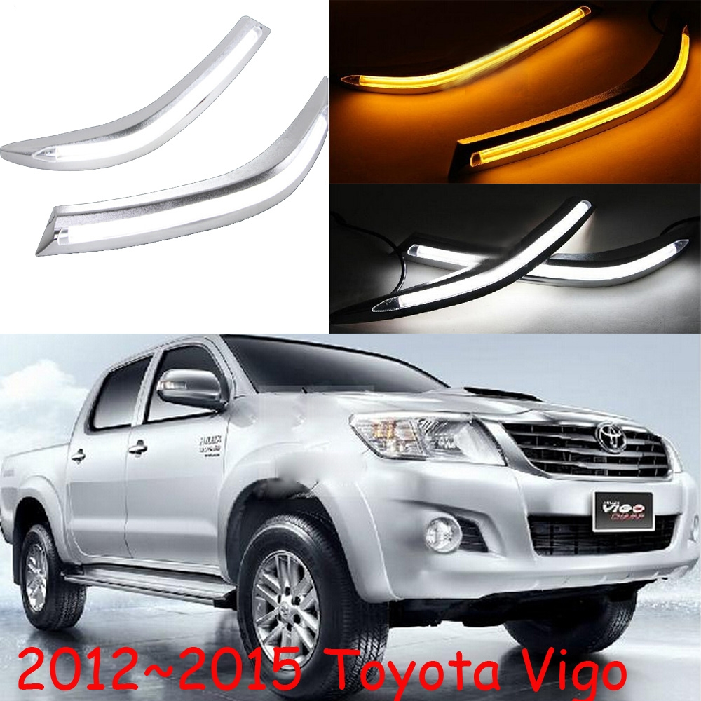 123.50$  Watch here - http://ali9yt.shopchina.info/go.php?t=32716010116 - Vigo daytime light,2012~2014,Free ship!LED,Vigo fog light,2ps/set,Corolla,prado,camry,Vigo  #buymethat