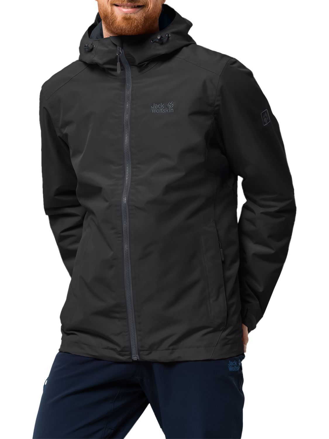Men Jackets & Gilets Jack Wolfskin CHILLY MORNING