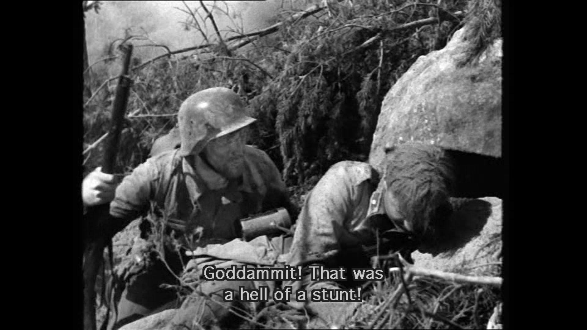 Tuntematon Sotilas (The Unknown Soldier) (1955) - Ensitaistelu ...