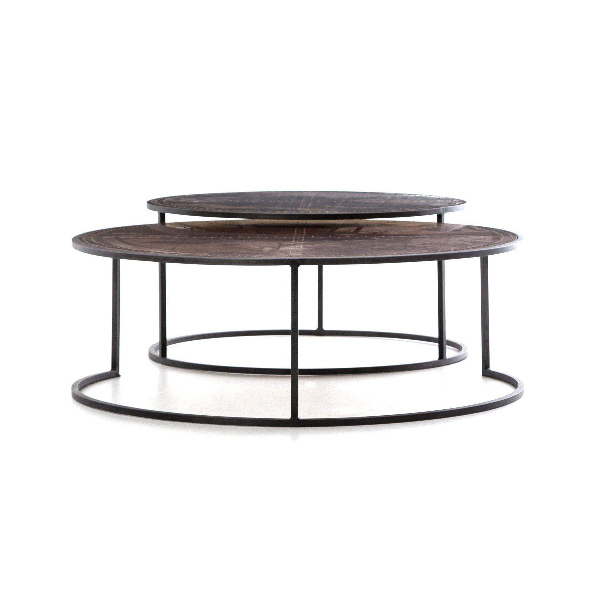 Catalina Nesting Coffee Table Antique Copper In 2021 Nesting Coffee Tables Coffee Table Large Coffee Tables [ 2048 x 2048 Pixel ]