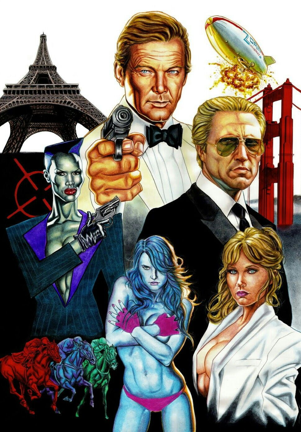 James Bond A View To A Kill With Images James Bond Movie