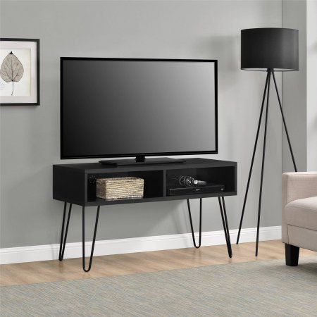 Mainstays Retro Tv Stand For Tvs Up To 42 Inch Wide Multiple Colors