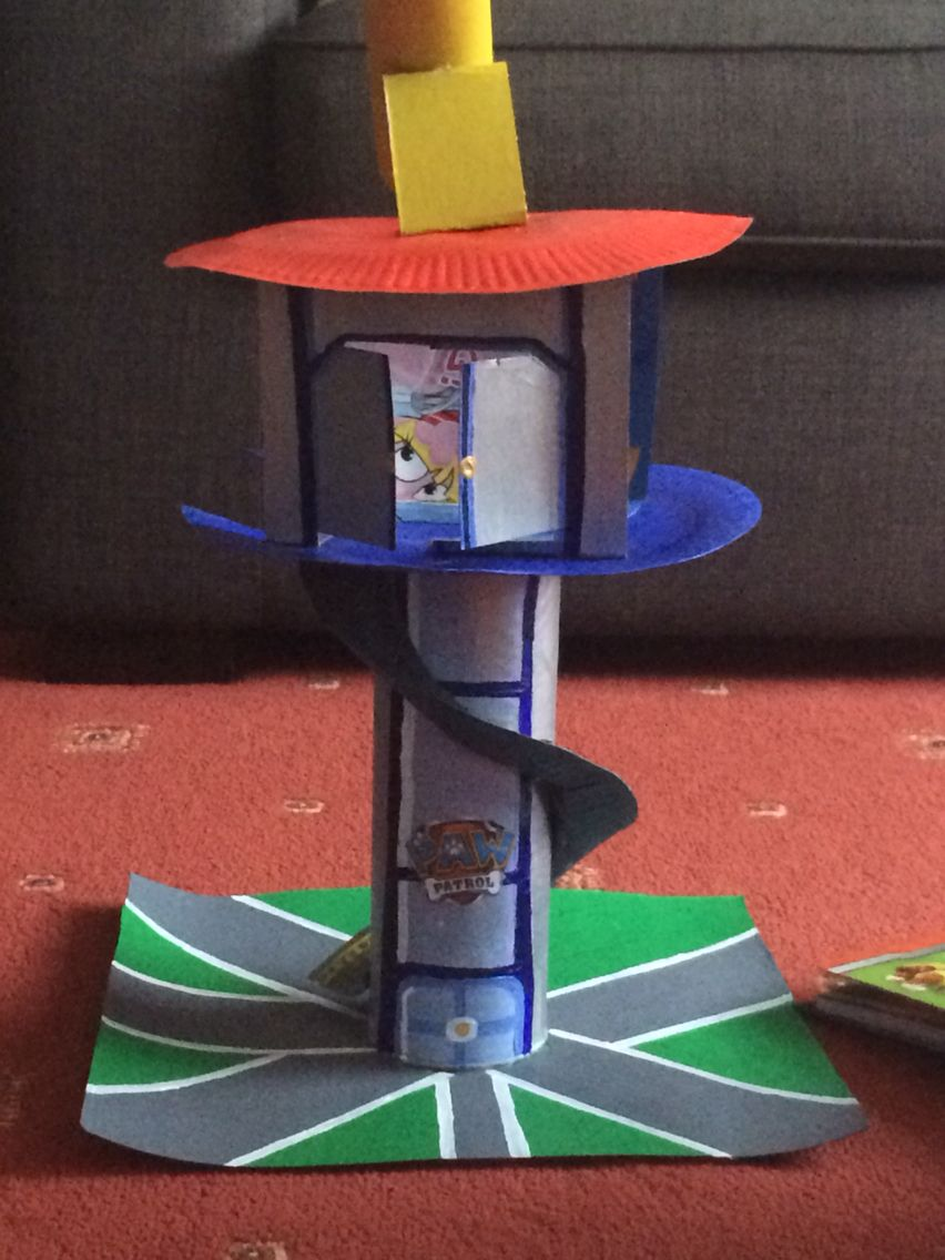 d i y paw patrol lookout crafts and such pinterest