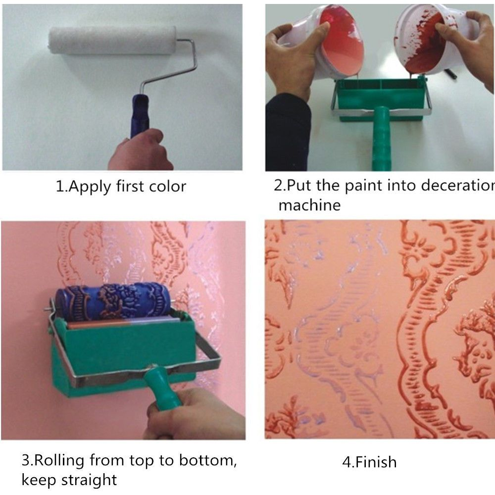 Wall Pattern Painting Roller Painttoolsets Wall Patterns Paint