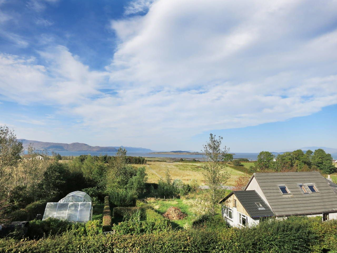 Our cottage has open views to the sea and seven islands. it can sleep up to 6 people.