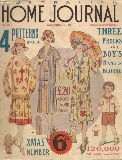 ~ Australian Home Journal, December 1926