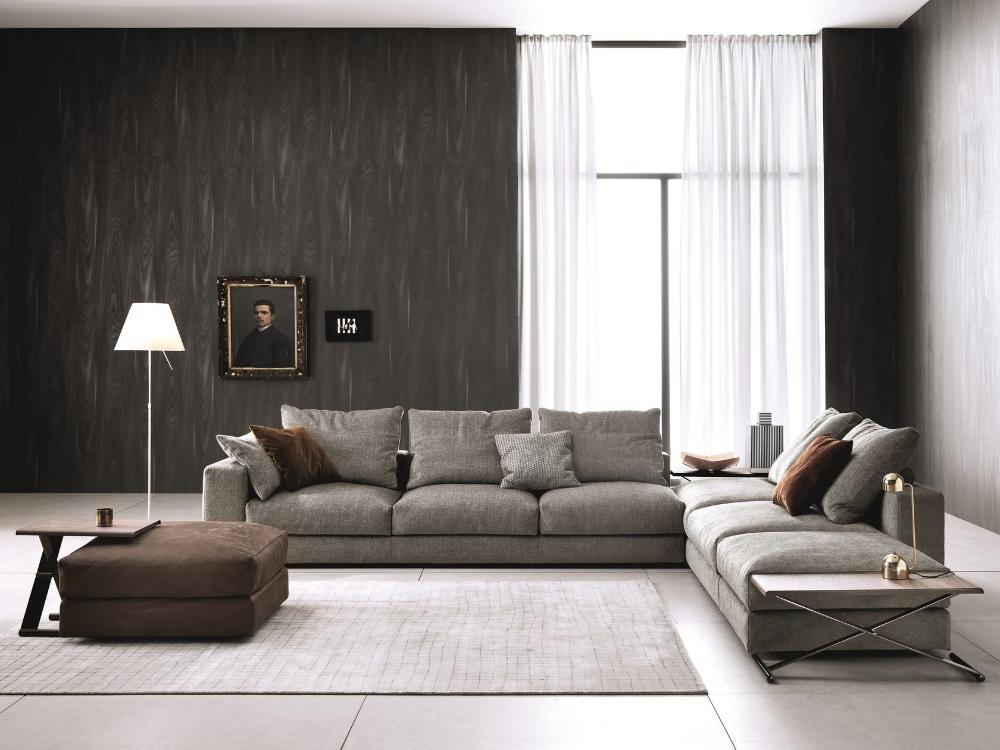 Sectional Modular Sofa Ananta Class By Saba Italia Design Sergio Bicego In 2020 Modular Sofa Design Leather Living Room Furniture Sofa Design
