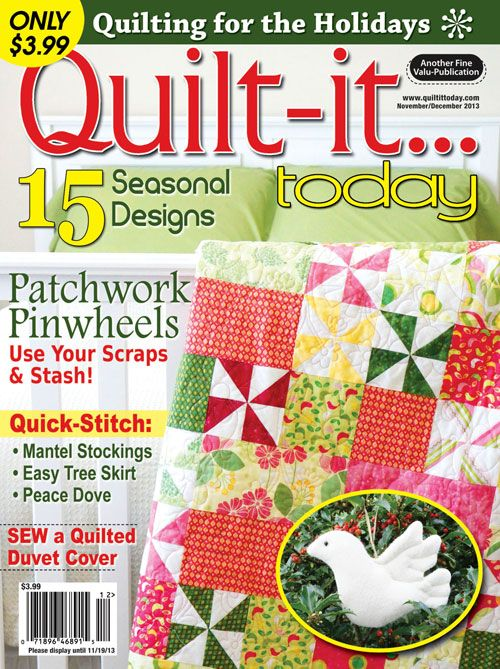 Quilt-it...today Magazine (only $3.99!) | Of Quilter Interest ... : quilting today magazine - Adamdwight.com