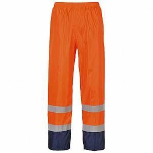 Pantalon de pluie haute visibilité Portwest Bicolor Orange / Navy XXL   – Products