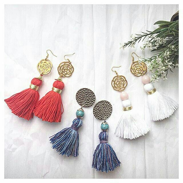 Pin by Torbicaaa on Accessoires (With images) Tassel