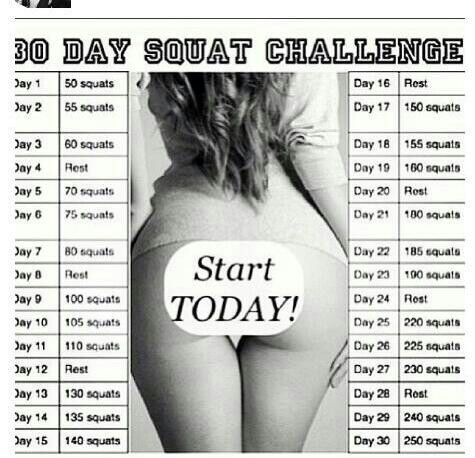 Just do it ( Squats )