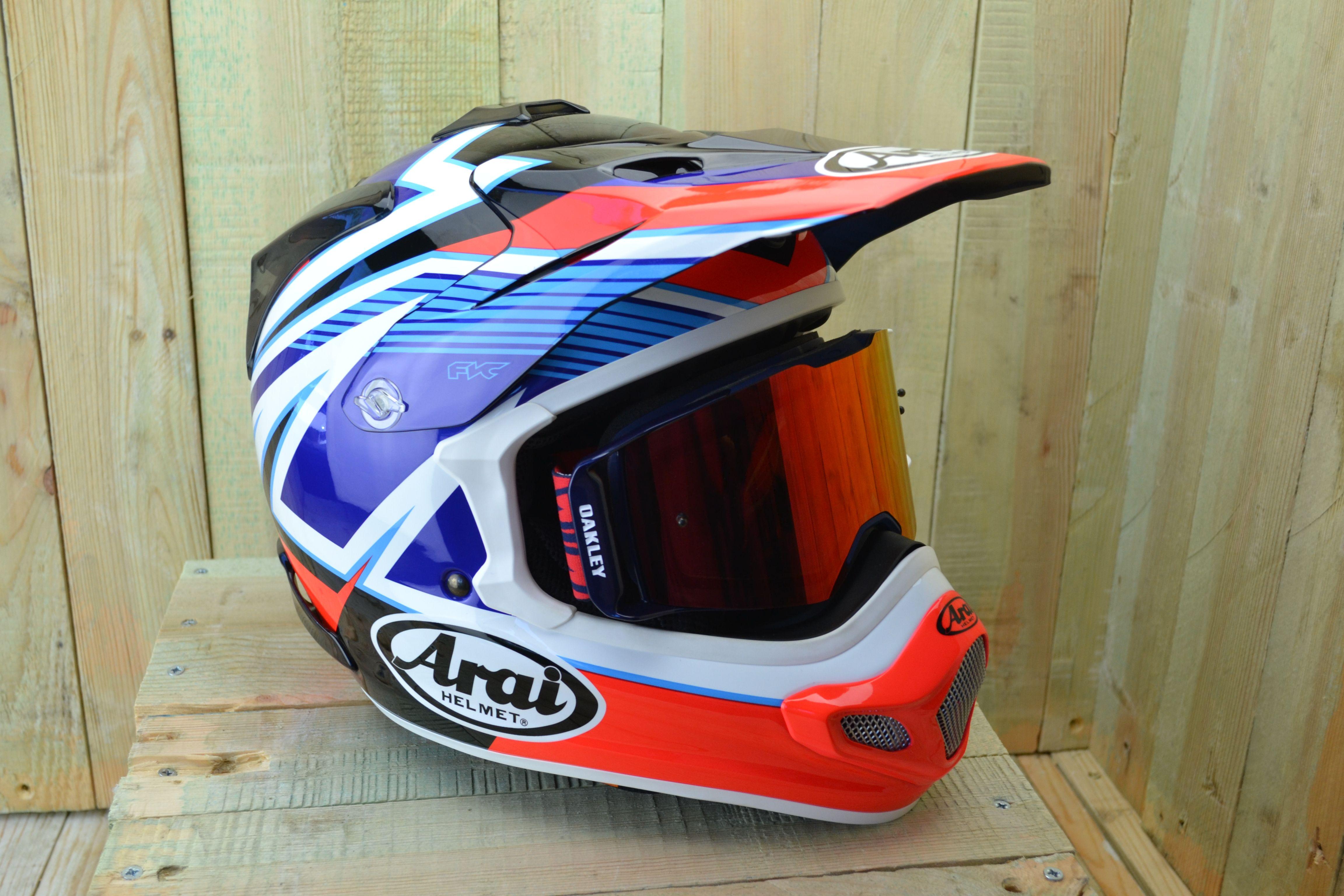 The brand new Arai MX-V motocross helmet has evolved from the much loved  Arai 67bb03a014cd4