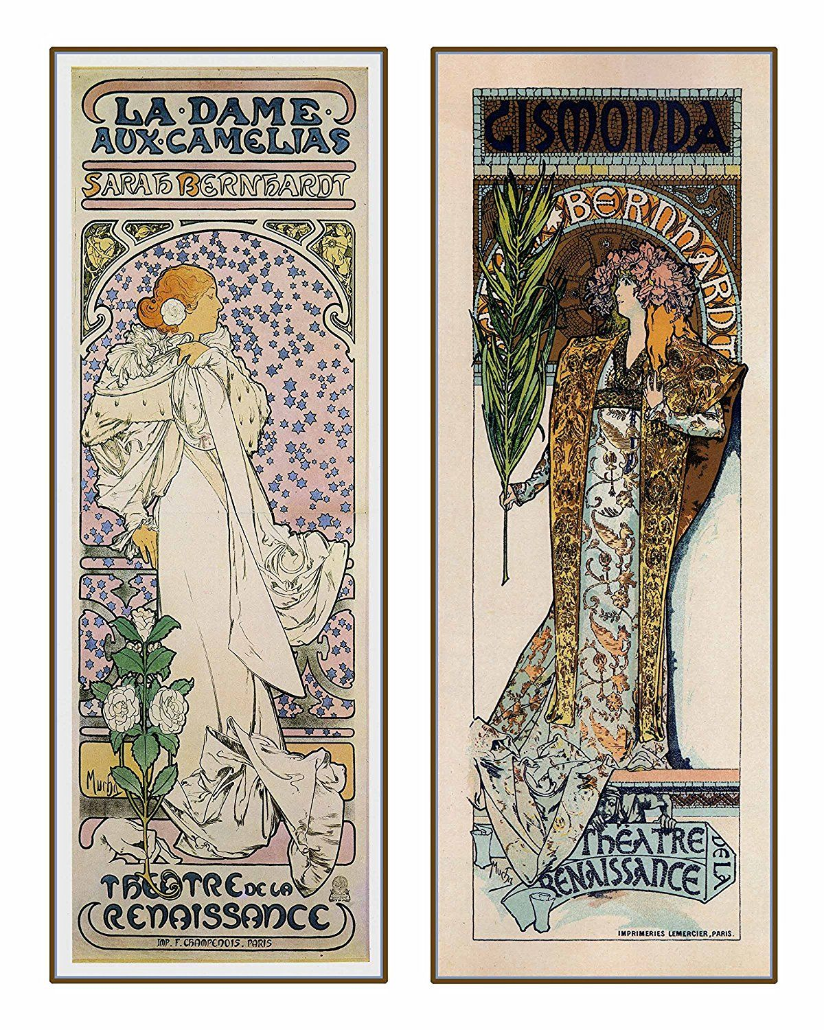 Style De La Renaissance amazonsmile: decorative art nouveau advertisement reprint
