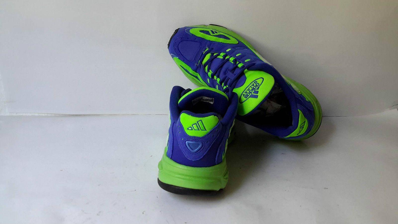 best value cheap for sale uk cheap sale Adidas Galaxy Vintage Schuh Sneaker Herren grün blau jahr ...