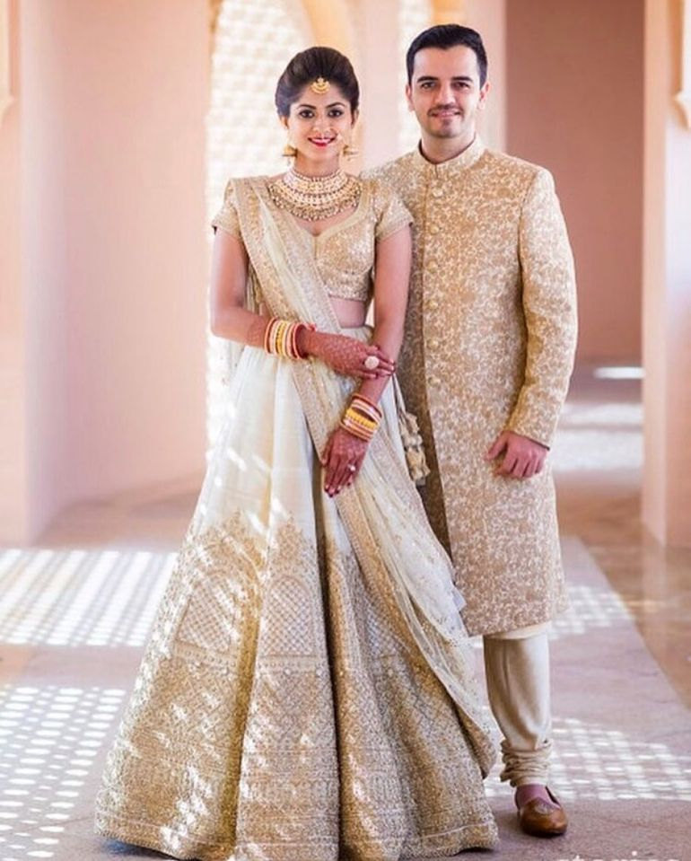 White Indian Wedding Dresses: Real Indian Brides Show Us How To Wear White Lehengas
