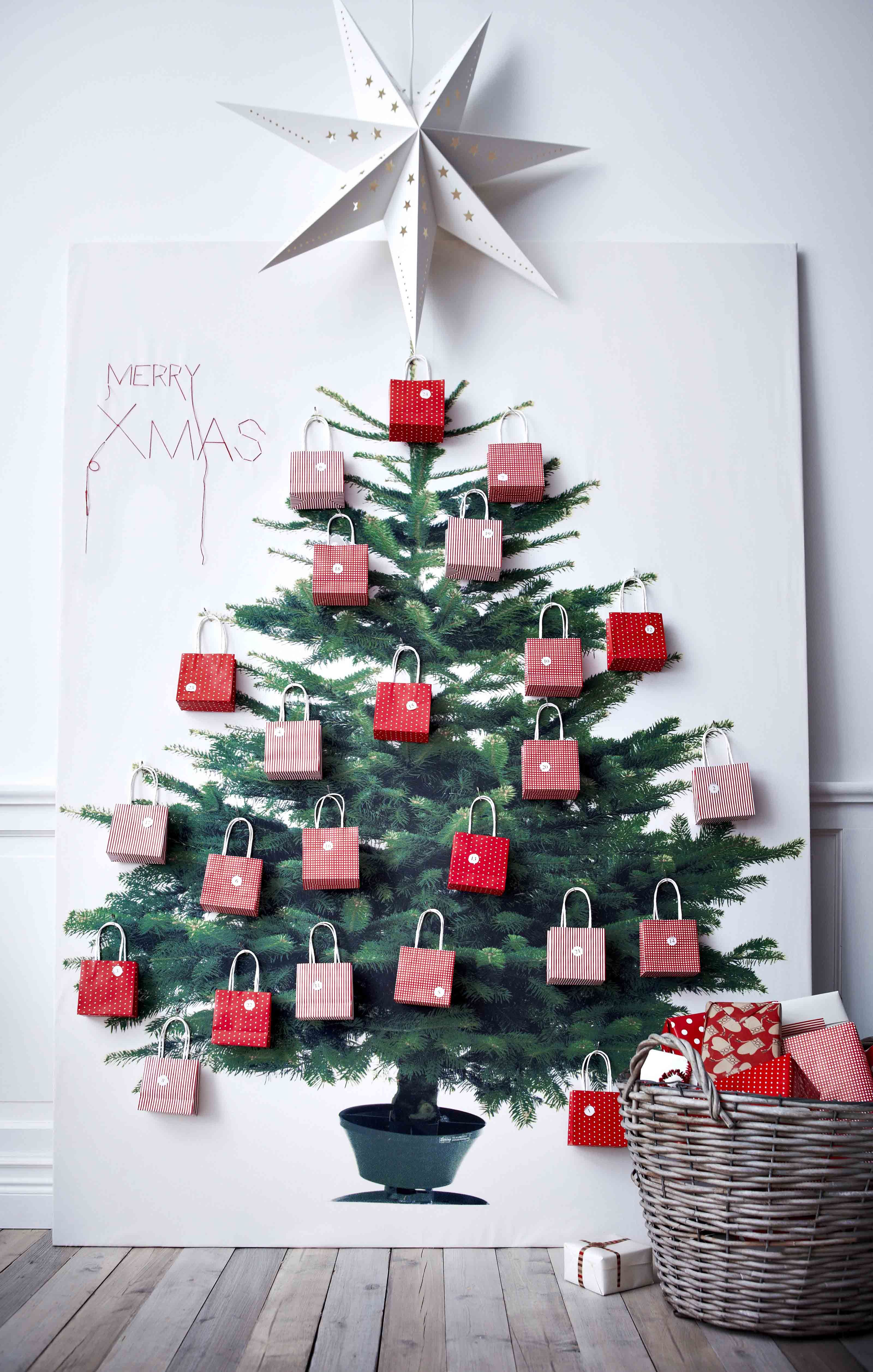 Christmas Giving Tree Ideas.Christmas Tree Good Way To Display A Giving Tree For Our