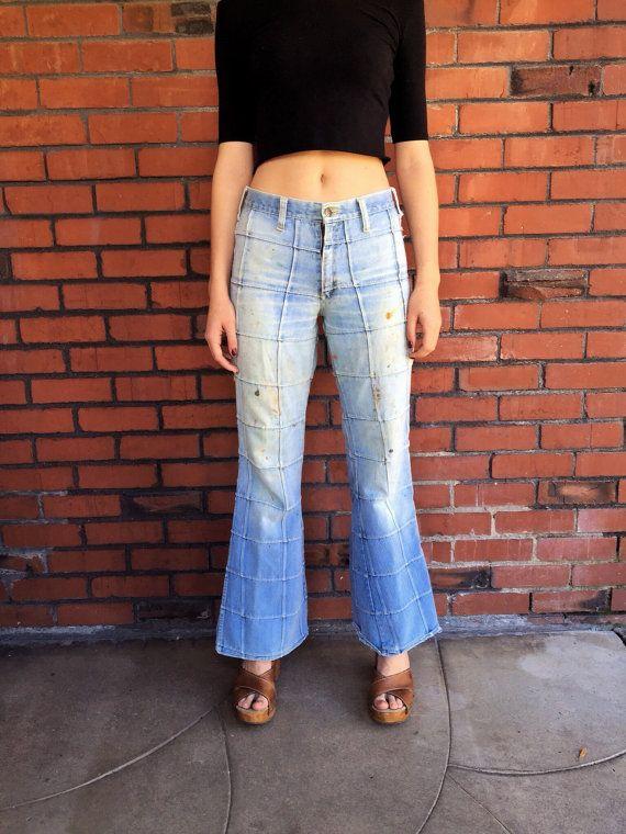 Vintage Paint Splattered Jeans (Size 28) ze2fR39vN