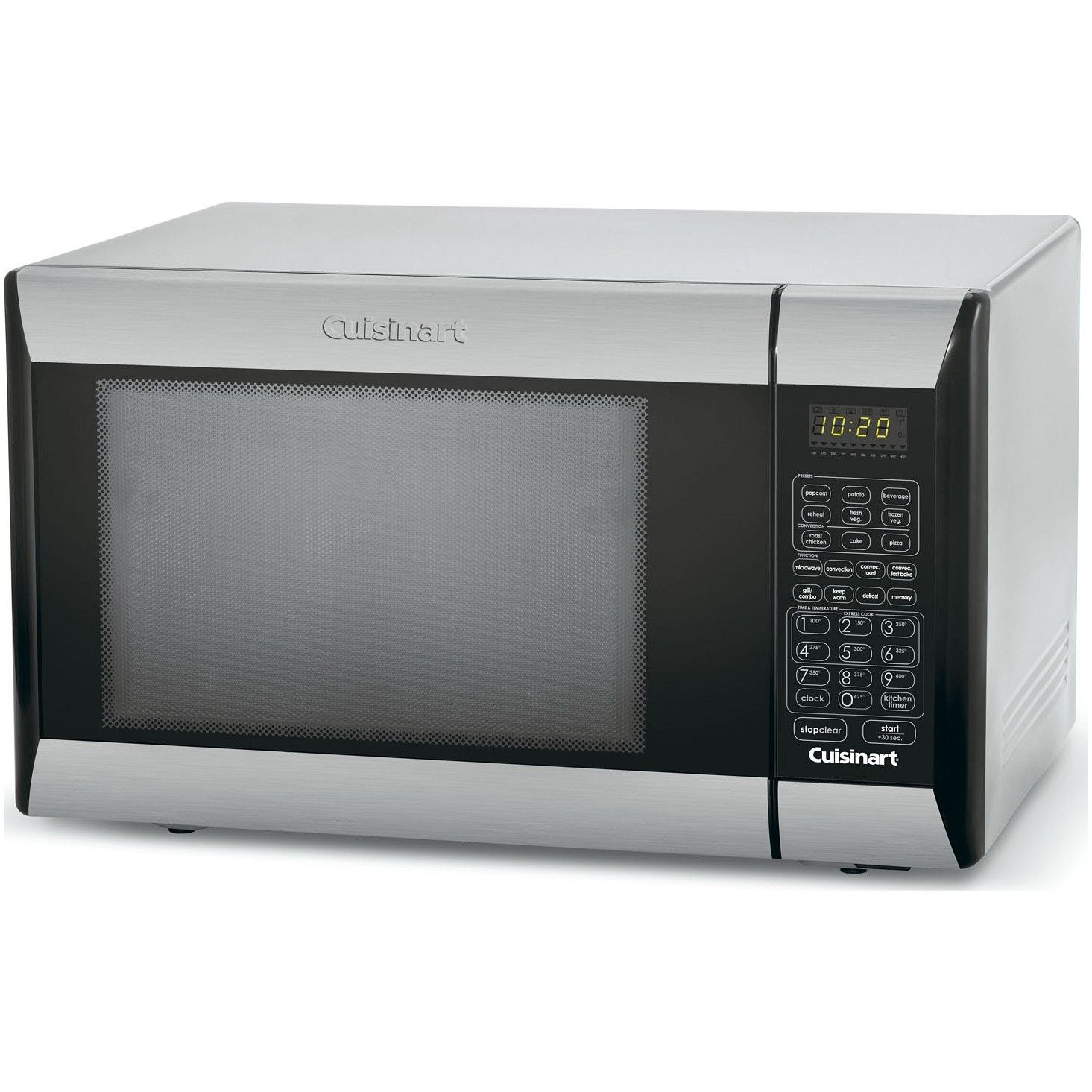 Cuisinart 1000 Watt Convection Microwave Oven Grill Stainless