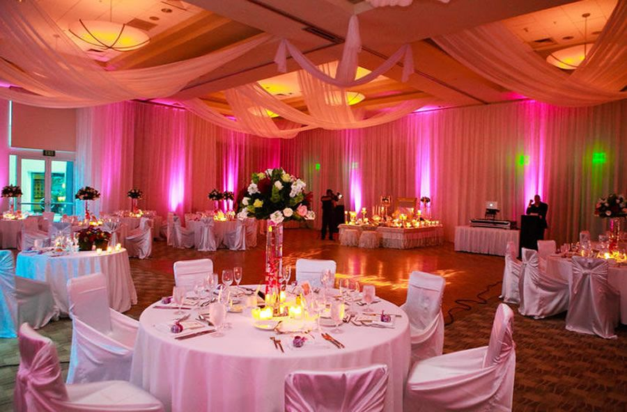 Luxury And Casual Ballroom Wedding Setting Interior Design Of The Dana  Hotel On Mission Bay,