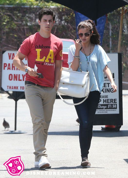 Lucy Hale And David Henrie 2014