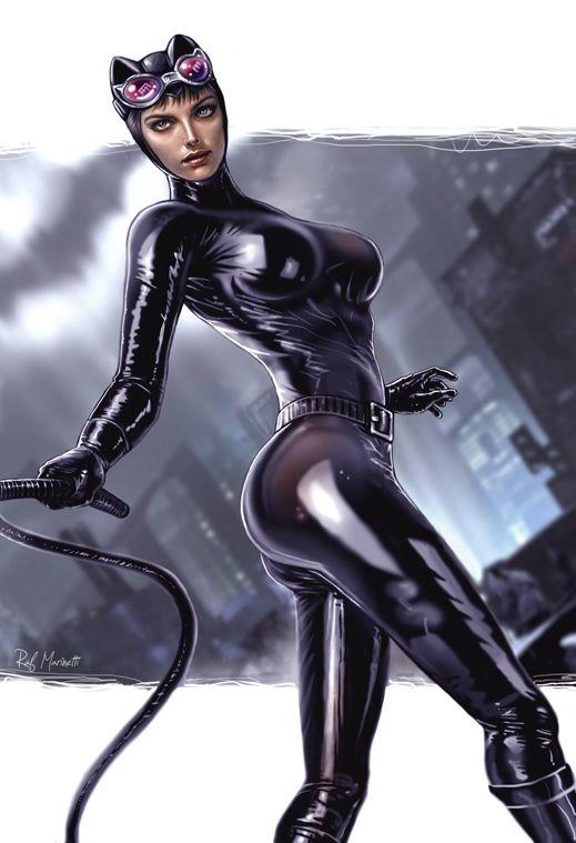 Catwoman fumetti porno