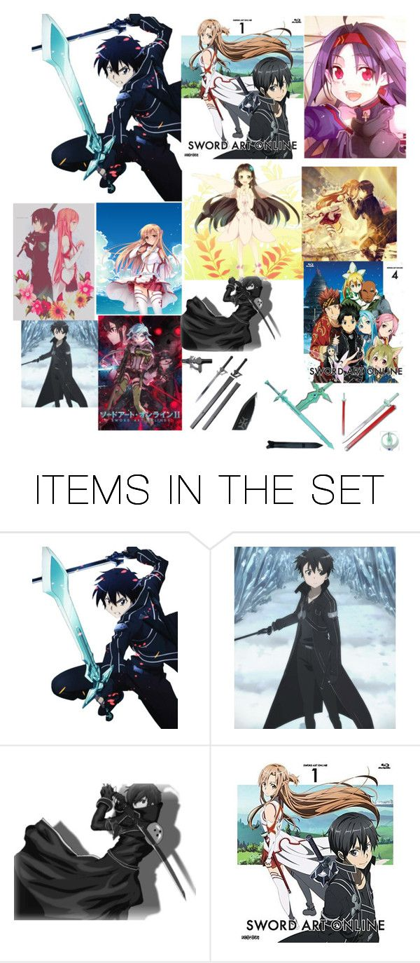 """""""Sword art online join the club"""" by angle12345 ❤ liked on Polyvore featuring art"""