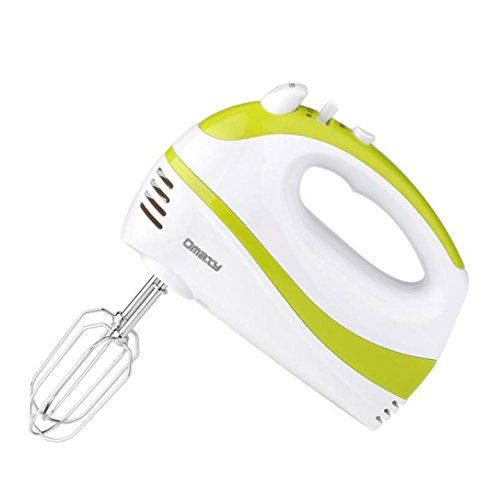Hand Mixer Beaters Held Small Electric Kitchen 5 Speed Portable Baking Appliance