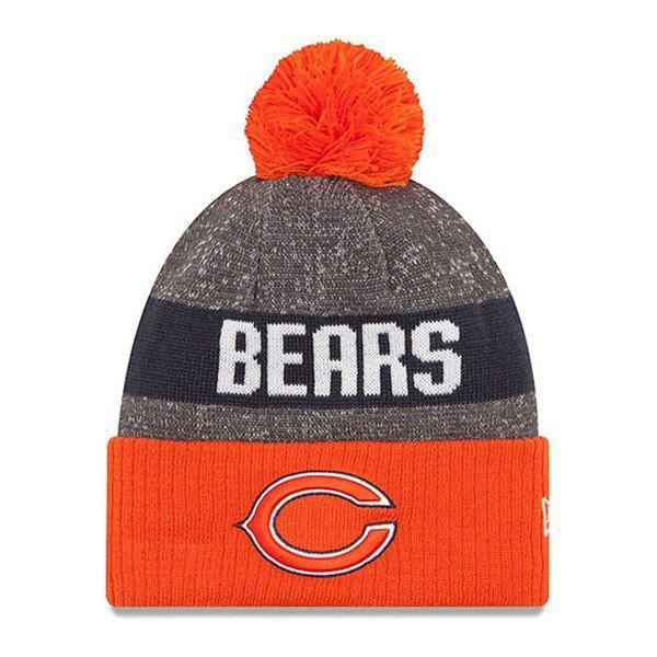 Chicago Bears Orange Sport Knit Hat by New Era  ChicagoBears  Bears  DaBears fb0dfd23818