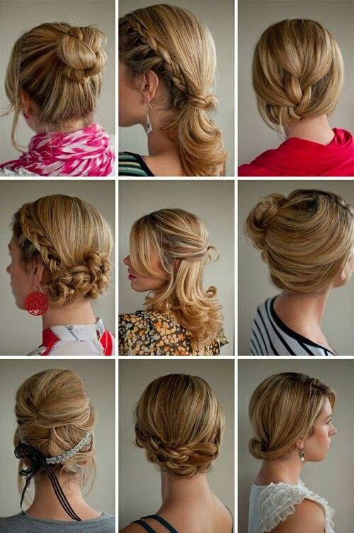 Peinados fáciles para cada día de la semana