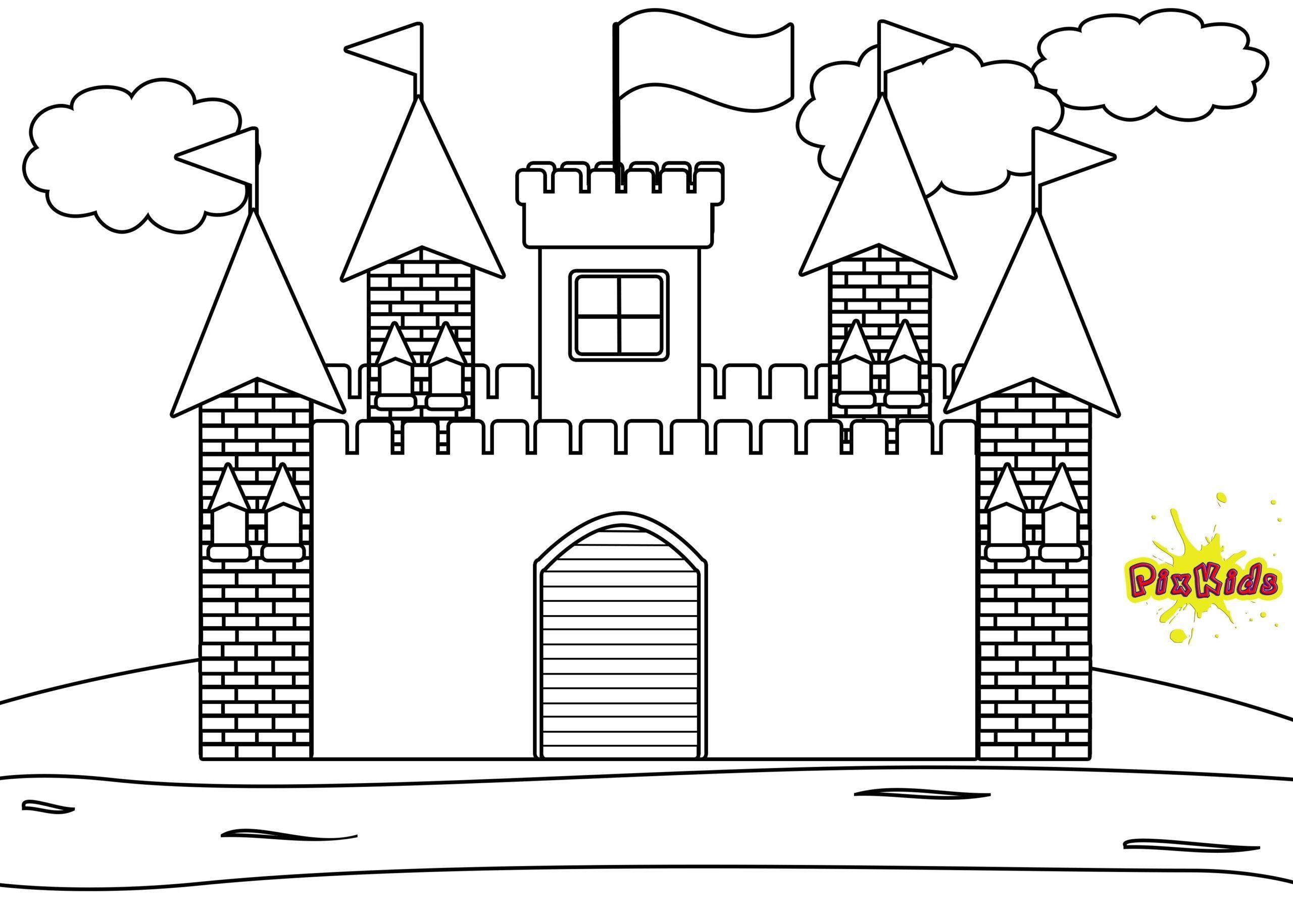 10 Gut Schloss Malvorlage Gedanke 2020