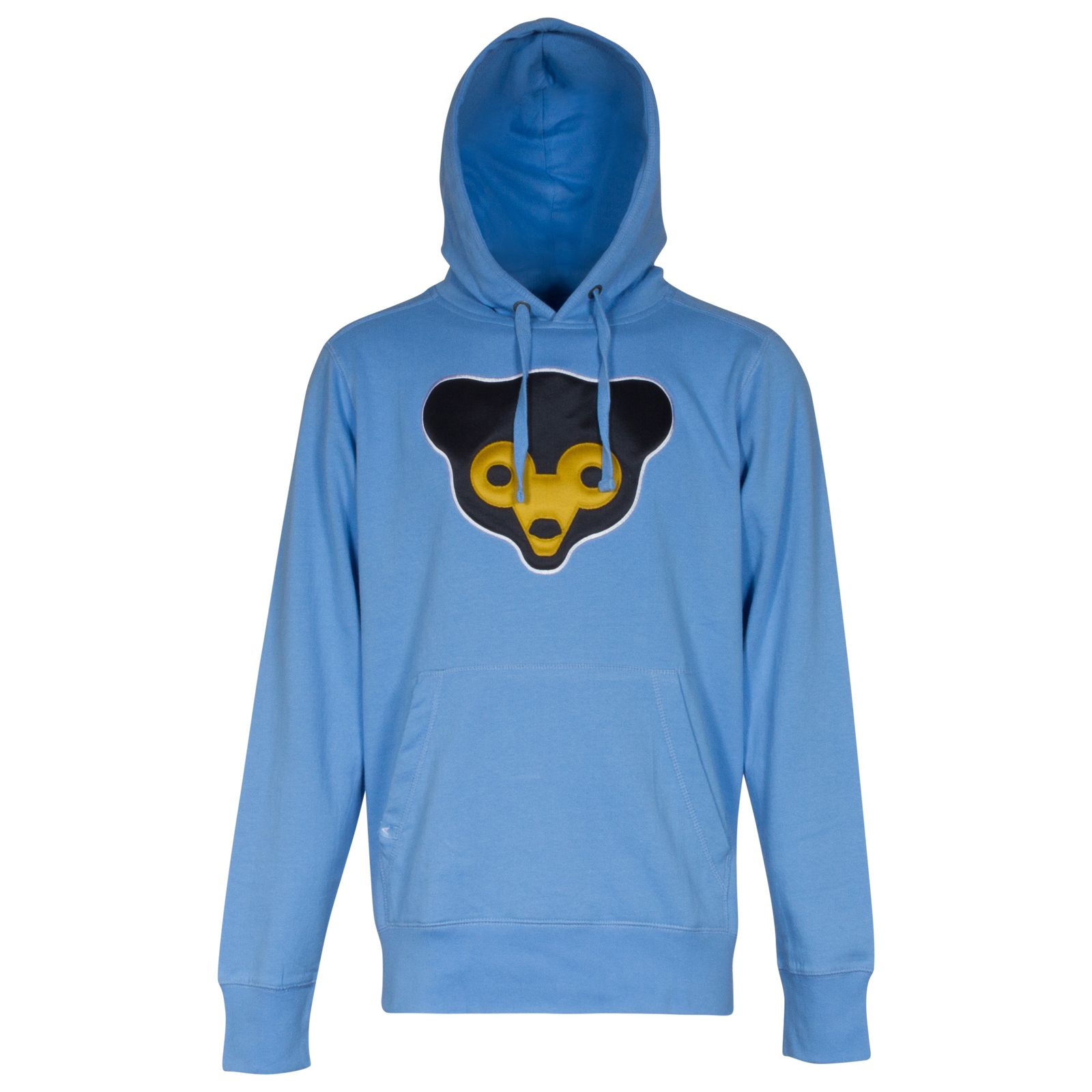 online retailer 4b625 d46e2 Chicago Cubs Mens Light Blue 1969 Logo Hooded Sweatshirt ...