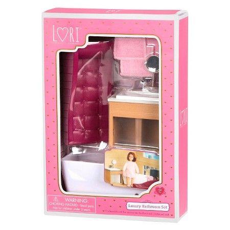 Our Generation Luxury Bathroom Set : Target | AG Mini Dolls & Houses ...