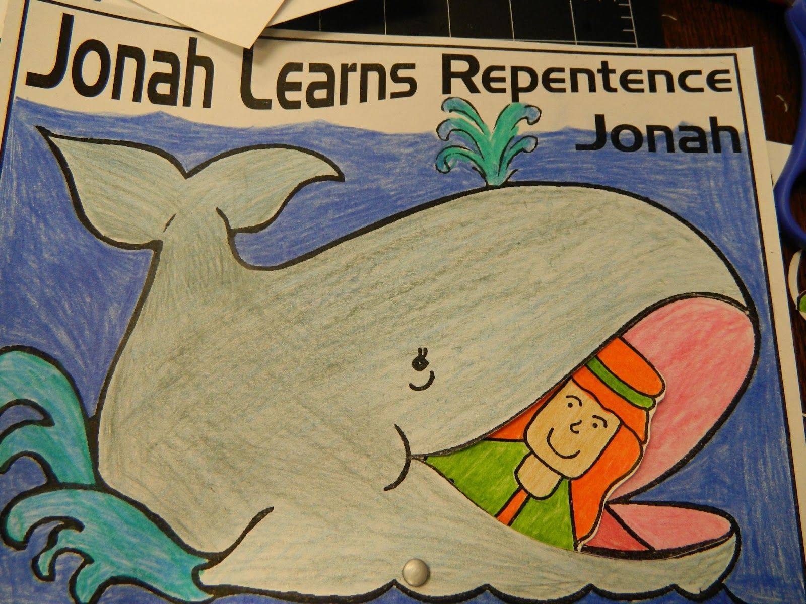 jonah and the whale party | Hands On Bible Teacher: A BIG FISH Story ...