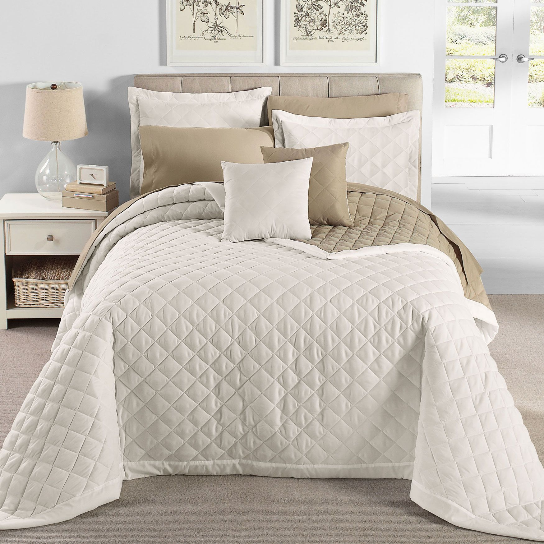 scenario® quilted bedspread & more | quilts | brylanehome - king