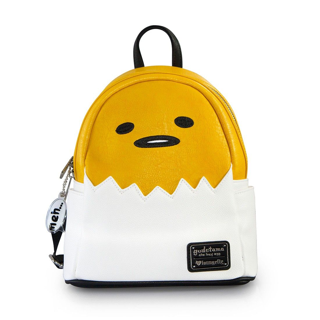 5962eab2f35b Loungefly x Gudetama Mini Faux Leather Backpack - Backpacks - Hello ...