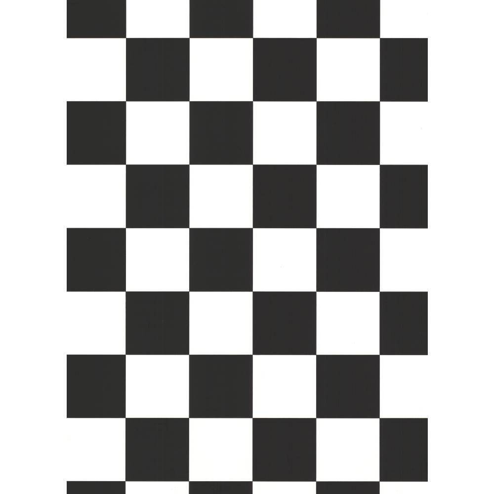 Black and White Checkered Wallpaper