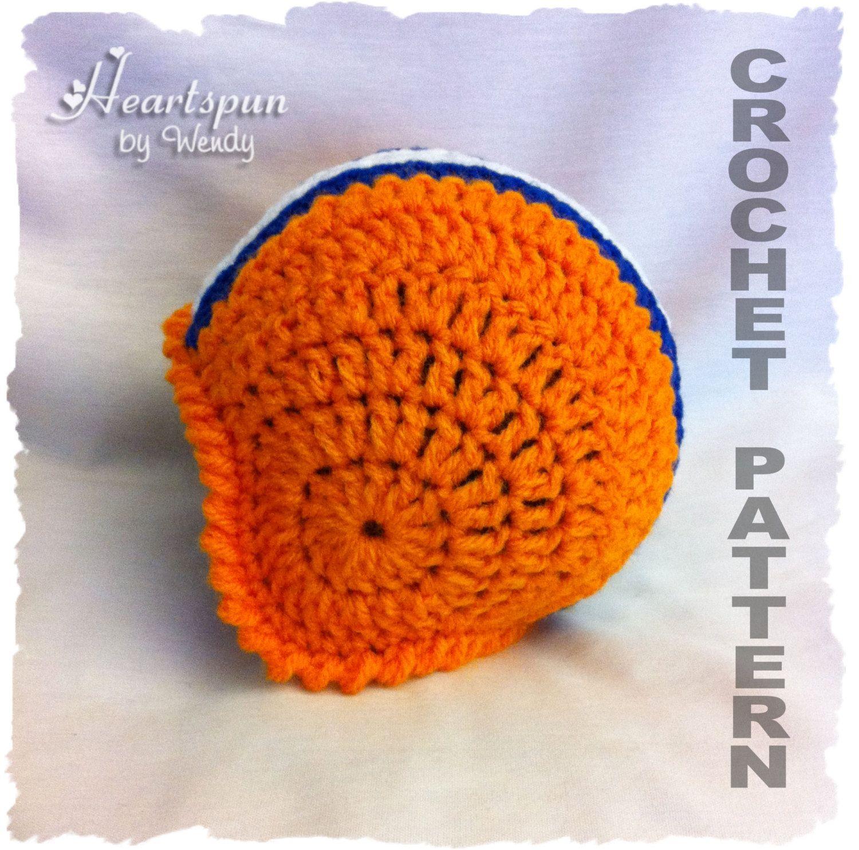 Football Helmet Baby Hat CROCHET PATTERN | Cool Idea\'s | Pinterest