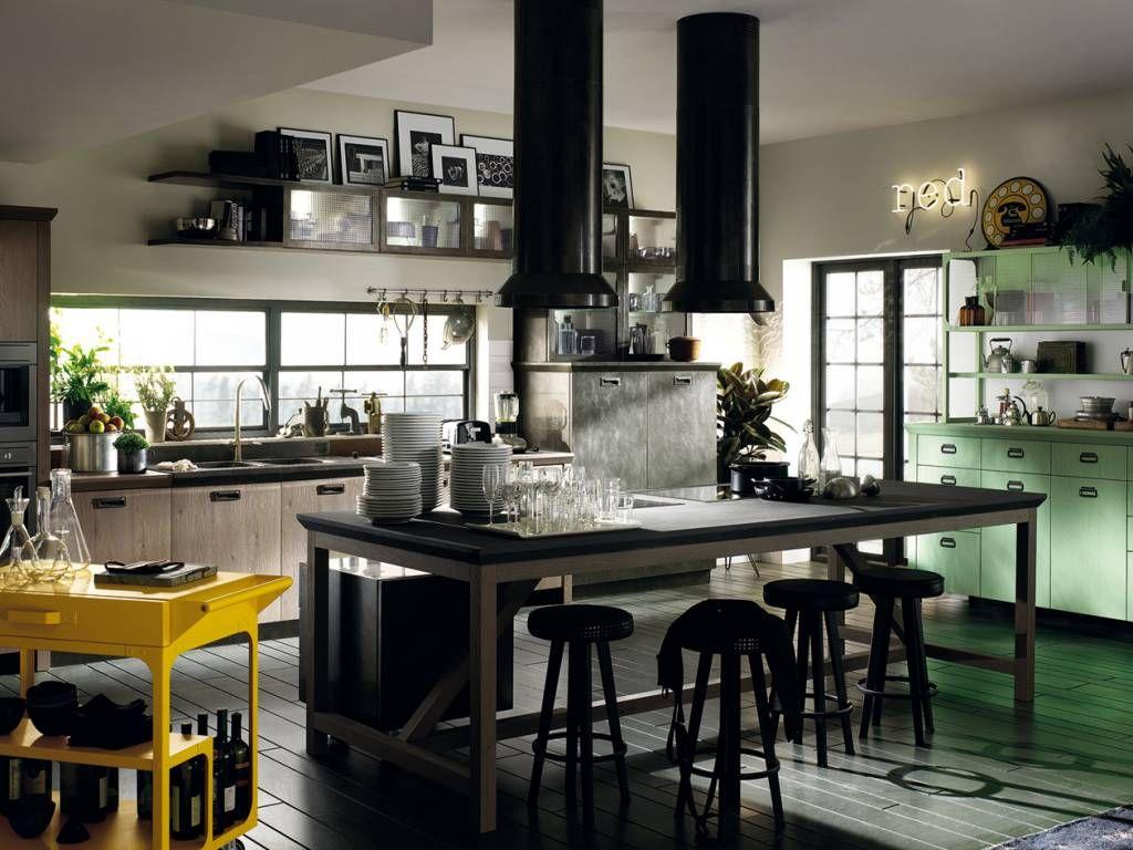 Кухня Дизель Социальная Кухня Скаволини продажа кухонь в