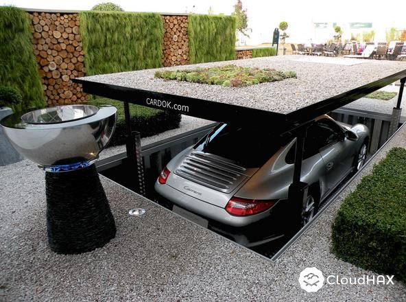 space saving garage space saving underground home parking solutions home and garden