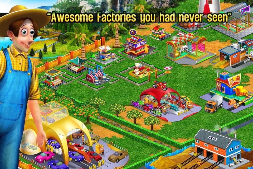 Downnload Game Templates Farm Factory Village iOS Source